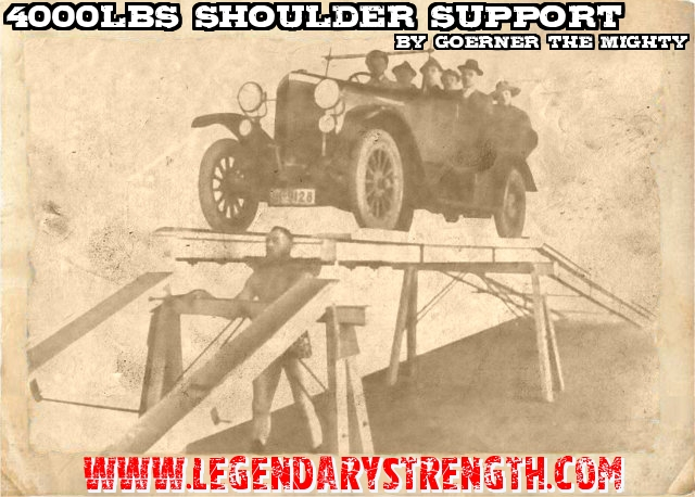 Goerner The Mighty 4000lbs support